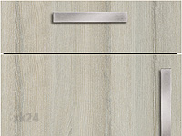 Küchenfront FTBK108 - Esche Molina grau