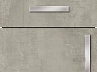 Küchenfront FTBK126 - Concrete grey
