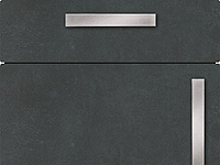 Küchenfront FTBK155 - Kito Stahl