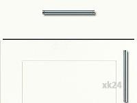 Küchenfront FTBK395 - Weiß seidenmatt