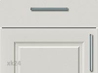 Küchenfront FTBK436 - Moonlight grey seidenmatt lackiert