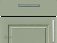 Küchenfront FTBK437 - Salbei seidenmatt lackiert