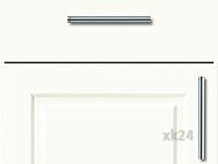 Küchenfront FTBK439 - Weiß seidenmatt lackiert