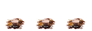 Lechner Arbeitsplatte - Lechner Glas Motive - Artikel Nr. M22 - Cacao