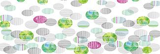 Lechner Arbeitsplatte - Lechner Glas Motive - Artikel Nr. M31 - Springtime