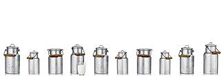 Lechner Arbeitsplatte - Lechner Glas Motive - Artikel Nr. M50 - Milk Churns