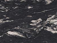Lechner Arbeitsplatte - Naturstein von Lechner - Artikel Nr. 034 - Black Cosmic strukturiert