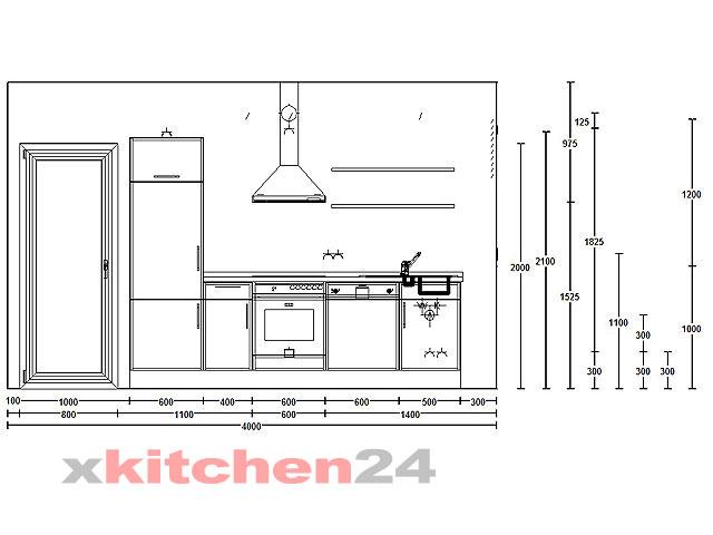 Küchenplanung maße  Küchen und Einbauküchen online über Internet kaufen - Komplett Küchen