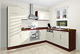 Konfigurierbare Küche AK1216