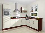 Konfigurierbare Küche AK1284