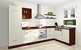 Konfigurierbare Küche AK1665