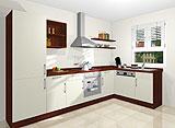 Konfigurierbare Küche AK1688