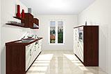 Konfigurierbare Küche AK2290