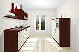 Konfigurierbare Küche AK2291