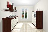 Konfigurierbare Küche AK2295