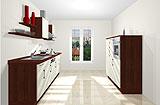 Konfigurierbare Küche AK2298