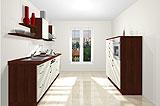 Konfigurierbare Küche AK2299