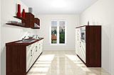 Konfigurierbare Küche AK2302