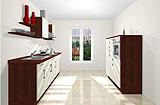 Konfigurierbare Küche AK2310