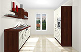Konfigurierbare Küche AK2338