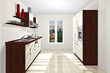 Konfigurierbare Küche AK2342